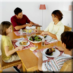 Eat Meals at Home as a Family