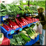 Farmer's Markets are a Source of Inexpensive Greens