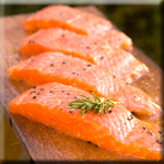 Salmon is and Excellent Source of Omega-3 Fats