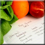 Start a Food log to Plan Meals a Week in Advance