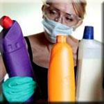Household Cleaners and Cosmetics are Absorbed by the Body