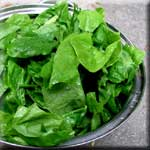 Raw Spinach is an Excellent Source of B Vitamin Folate
